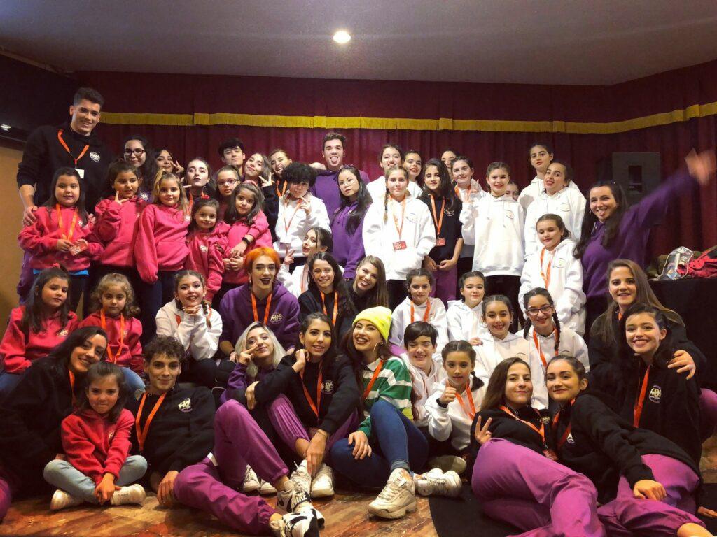 Alumnos de K-THÁRSIS en la actuación del Gran Teatro